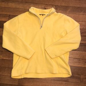 Tommy Bahama Yellow Quarter Zip